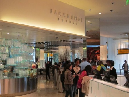 Bacchanal Buffet at Caesars Palace
