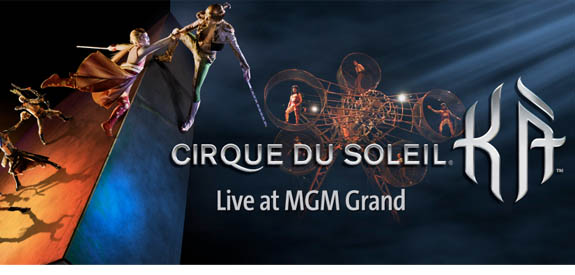 Ka By Cirque Du Soleil At Mgm Grand Discount Show Tickets Save Up To 50 Per Ticket Until