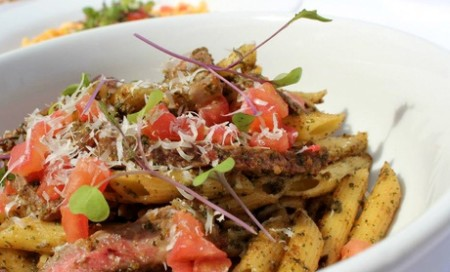 Pasta Fresh: $19 for Family Meal with Pasta, Salad, and Garlic Knots or $$7 for $14 Worth of ...