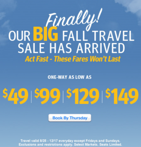 southwest-sale