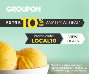 Groupon Extra 10 Off Any Local Deal Promo Code (Aug 11-12)