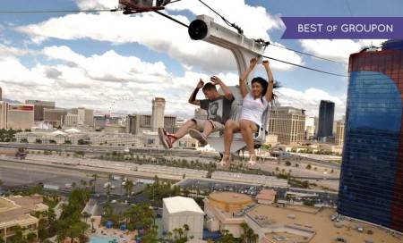 Voodoo Zipline At Rio Las Vegas 46 For Vip Ride Package Two 38 Off