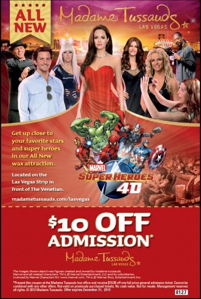 Vegas discounts and coupons