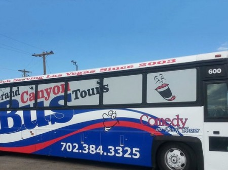 Comedy On Deck Tours 109 For One Ticket To The Grand Canyon West Rim Express Tour 45 Off