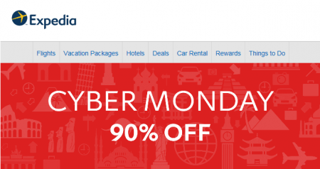 expedia-cyber-monday-90-off