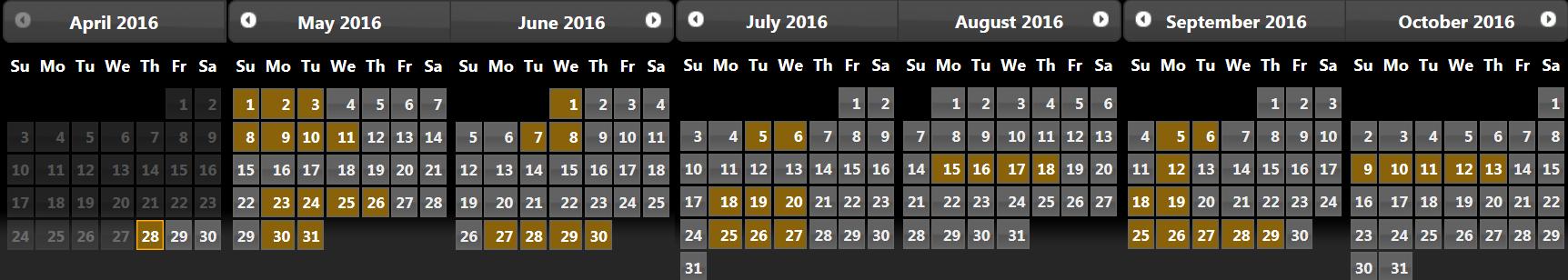 excalibur-calendar
