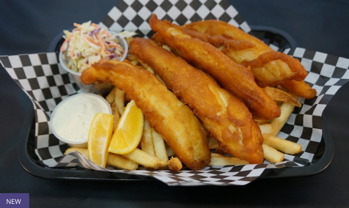 Off The Hook Fish And Chips 14 For 20 Worth Of American Cuisine Two Options Available Up To