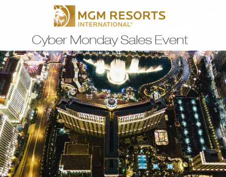 Grab some great Black Friday and Cyber Monday deals on Vegas hotels, shows, attractions, airfare, and more. Deals usually begin Black Friday (November 23th) through Cyber Monday (November 26th). Check back often for the latest Las Vegas hotel deals and coupons code during Black Friday, Cyber Monday and all Cyber Week!